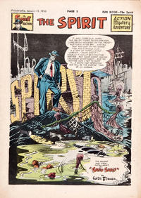 Cover Thumbnail for The Spirit (Register and Tribune Syndicate, 1940 series) #1/15/1950