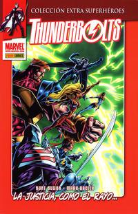 Cover Thumbnail for Colección Extra Superhéroes (Panini España, 2011 series) #3 - Thunderbolts 1: La Justicia, Como el Rayo...