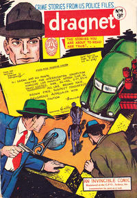 Cover for Dragnet (Invincible Press, 1954 series) #4
