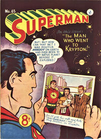 Cover Thumbnail for Superman (K. G. Murray, 1947 series) #65