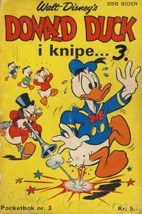 Cover Thumbnail for Donald Pocket (Hjemmet / Egmont, 1968 series) #3 - Donald Duck i knipe ... [1. opplag]