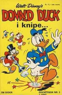 Cover Thumbnail for Donald Pocket (Hjemmet / Egmont, 1968 series) #3 - Donald Duck i knipe ... [2. opplag]