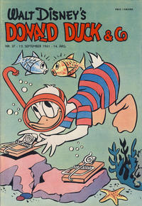 Cover Thumbnail for Donald Duck & Co (Hjemmet / Egmont, 1948 series) #37/1961