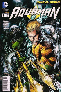 Cover Thumbnail for Aquaman (Editorial Televisa, 2012 series) #1