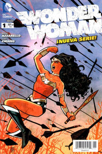 Cover Thumbnail for Wonder Woman (Editorial Televisa, 2012 series) #1