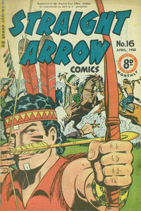 Cover Thumbnail for Straight Arrow Comics (Magazine Management, 1950 series) #16