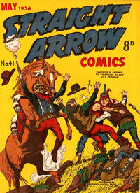 Cover Thumbnail for Straight Arrow Comics (Magazine Management, 1950 series) #41
