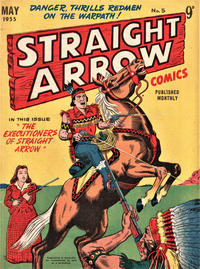 Cover Thumbnail for Straight Arrow Comics (Magazine Management, 1955 series) #5