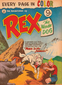 Cover Thumbnail for The Adventures of Rex the Wonder Dog (K. G. Murray, 1956 series)