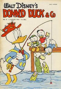 Cover Thumbnail for Donald Duck & Co (Hjemmet / Egmont, 1948 series) #31/1961