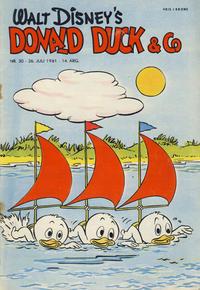 Cover Thumbnail for Donald Duck & Co (Hjemmet / Egmont, 1948 series) #30/1961