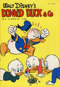 Cover Thumbnail for Donald Duck & Co (Hjemmet / Egmont, 1948 series) #34/1961