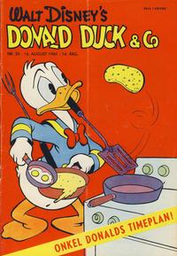 Cover Thumbnail for Donald Duck & Co (Hjemmet / Egmont, 1948 series) #33/1961