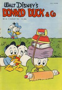 Cover Thumbnail for Donald Duck & Co (Hjemmet / Egmont, 1948 series) #32/1961