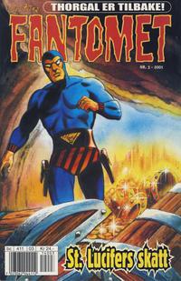 Cover Thumbnail for Fantomet (Hjemmet / Egmont, 1998 series) #3/2001