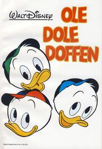 Cover for Bilag til Donald Duck & Co (Hjemmet / Egmont, 1997 series) #29/2012