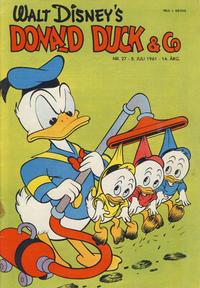 Cover Thumbnail for Donald Duck & Co (Hjemmet / Egmont, 1948 series) #27/1961