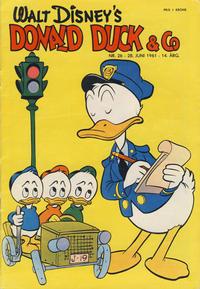 Cover Thumbnail for Donald Duck & Co (Hjemmet / Egmont, 1948 series) #26/1961