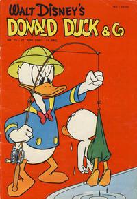 Cover Thumbnail for Donald Duck & Co (Hjemmet / Egmont, 1948 series) #25/1961