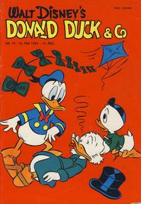 Cover Thumbnail for Donald Duck & Co (Hjemmet / Egmont, 1948 series) #19/1961