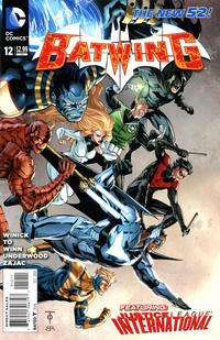 Cover Thumbnail for Batwing (DC, 2011 series) #12
