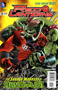 Cover Thumbnail for Red Lanterns (DC, 2011 series) #12