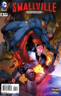 Cover Thumbnail for Smallville Season 11 (DC, 2012 series) #4