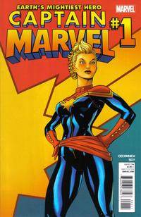 Cover Thumbnail for Captain Marvel (Marvel, 2012 series) #1