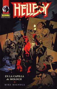 Cover Thumbnail for Hellboy: En la Capilla de Moloch (NORMA Editorial, 2009 series)