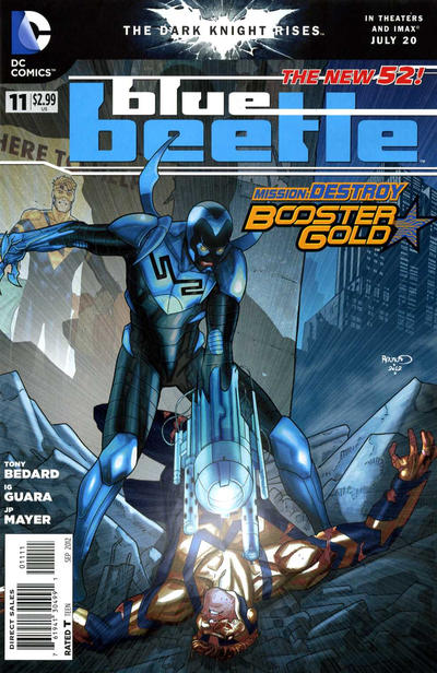 Cover for Blue Beetle (DC, 2011 series) #11