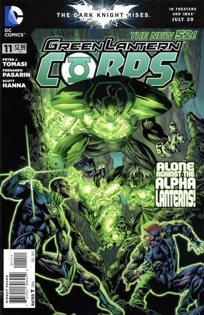 Cover for Green Lantern Corps (DC, 2011 series) #11