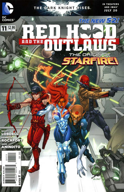 Cover for Red Hood and the Outlaws (DC, 2011 series) #11
