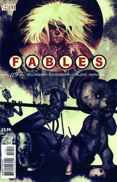 Cover for Fables (DC, 2002 series) #119
