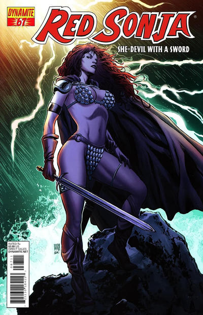 Cover for Red Sonja (Dynamite Entertainment, 2005 series) #67 [Cover A]