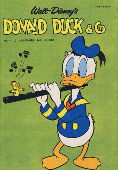 Cover for Donald Duck & Co (Hjemmet / Egmont, 1948 series) #47/1962