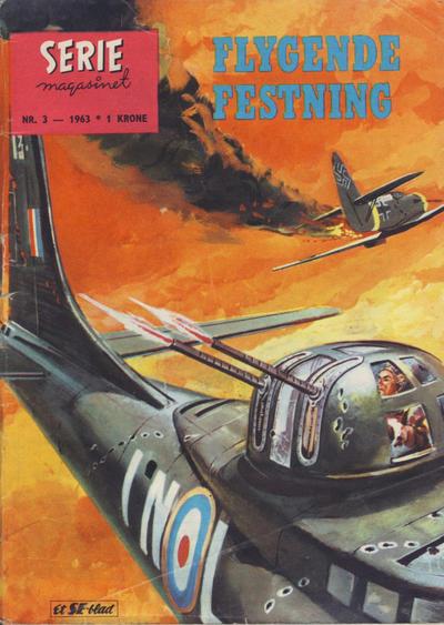 Cover for Seriemagasinet (Serieforlaget / Se-Bladene / Stabenfeldt, 1951 series) #3/1963