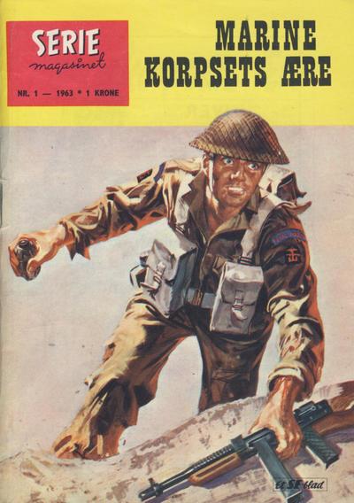Cover for Seriemagasinet (Serieforlaget / Se-Bladene / Stabenfeldt, 1951 series) #1/1963