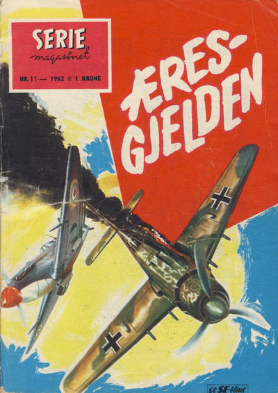 Cover for Seriemagasinet (Serieforlaget / Se-Bladene / Stabenfeldt, 1951 series) #11/1962
