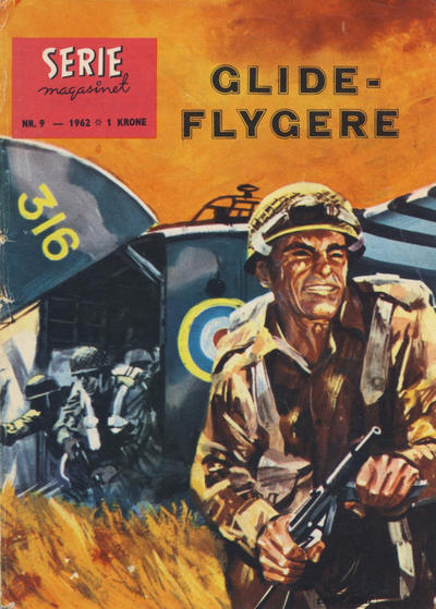 Cover for Seriemagasinet (Serieforlaget / Se-Bladene / Stabenfeldt, 1951 series) #9/1962