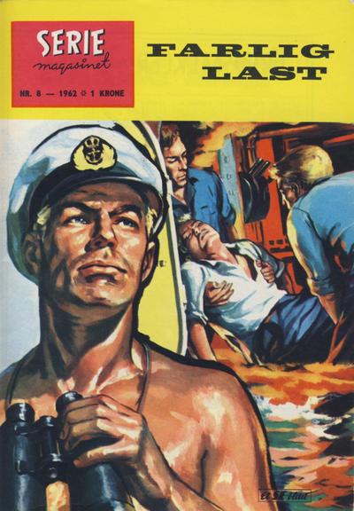 Cover for Seriemagasinet (Serieforlaget / Se-Bladene / Stabenfeldt, 1951 series) #8/1962
