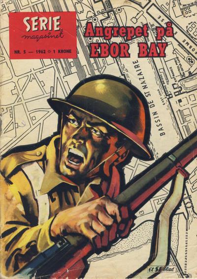 Cover for Seriemagasinet (Serieforlaget / Se-Bladene / Stabenfeldt, 1951 series) #5/1962