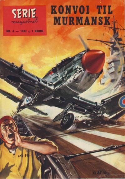 Cover for Seriemagasinet (Serieforlaget / Se-Bladene / Stabenfeldt, 1951 series) #4/1962