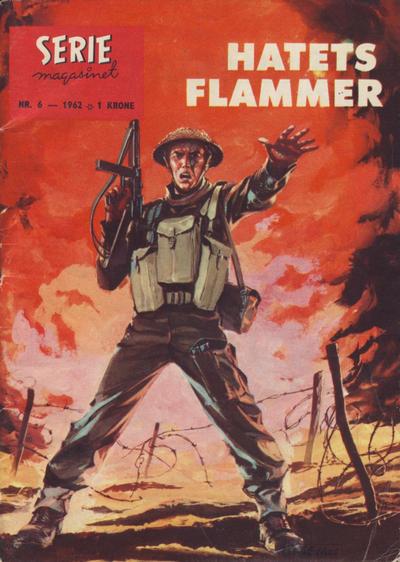 Cover for Seriemagasinet (Serieforlaget / Se-Bladene / Stabenfeldt, 1951 series) #6/1962