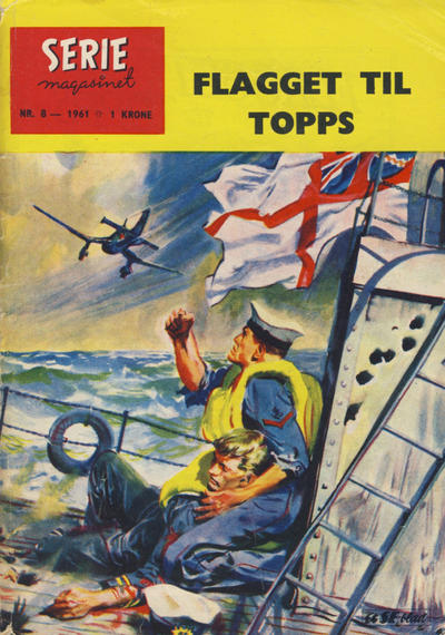 Cover for Seriemagasinet (Serieforlaget / Se-Bladene / Stabenfeldt, 1951 series) #8/1961