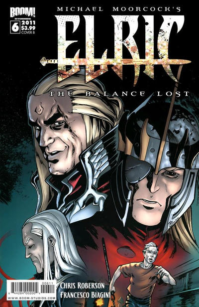 Cover for Elric: The Balance Lost (Boom! Studios, 2011 series) #6