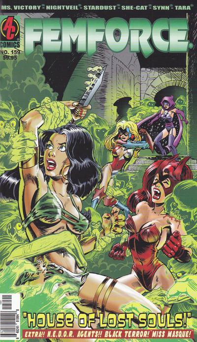 Cover for FemForce (AC, 1985 series) #159