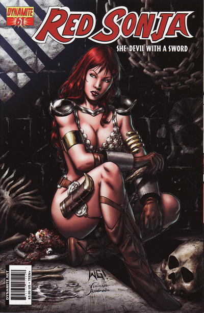 Cover for Red Sonja (Dynamite Entertainment, 2005 series) #61 [Cover A]