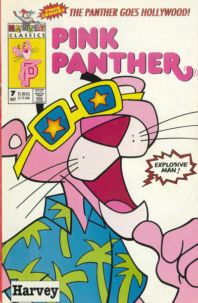 Cover for The Pink Panther (Harvey, 1993 series) #7 [Direct]