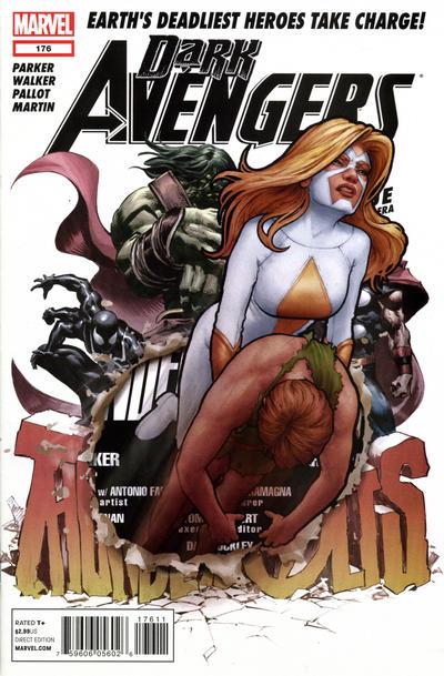 Cover for Dark Avengers (Marvel, 2012 series) #176