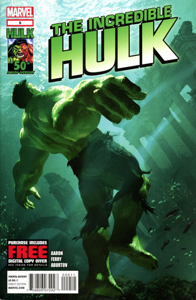 Cover for The Incredible Hulk (Marvel, 2011 series) #9